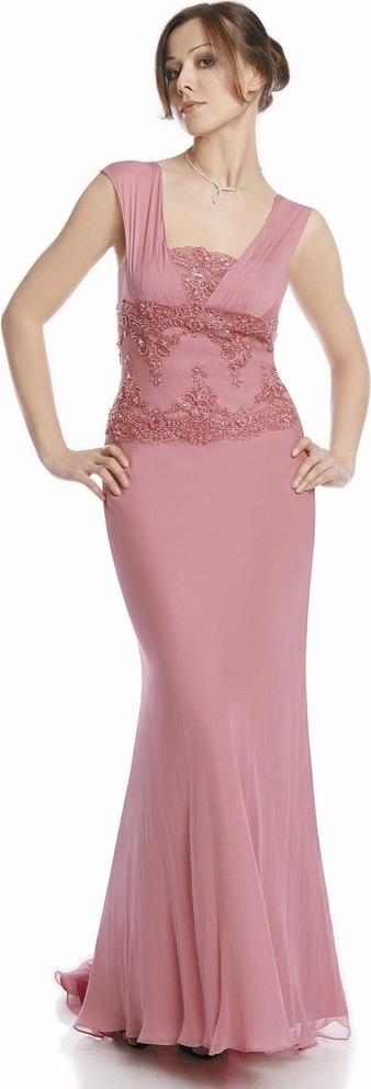 Różowa sukienka Fokus maxi