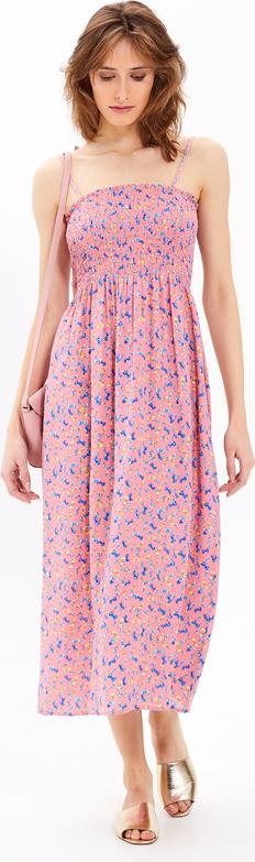 Różowa sukienka Gate na ramiączkach
