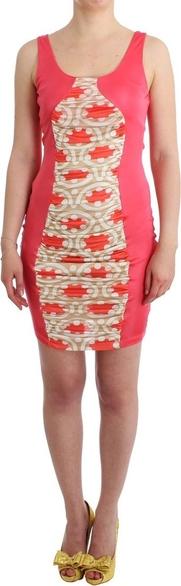 Różowa sukienka Gf Ferre mini