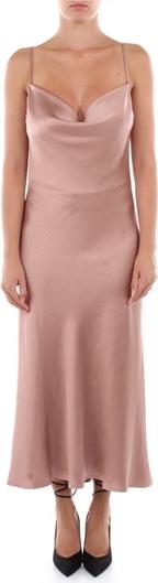 Różowa sukienka Imperial maxi