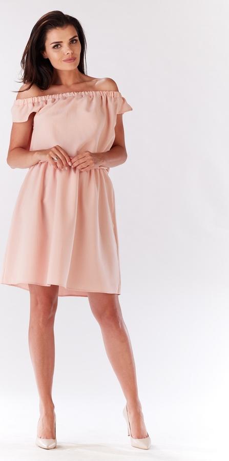 Różowa sukienka Infinite You mini