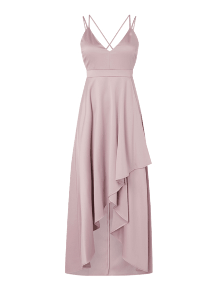 Różowa sukienka Jake*s Cocktail z szyfonu maxi