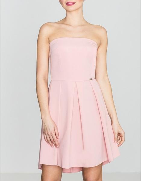 Różowa sukienka LENITIF mini