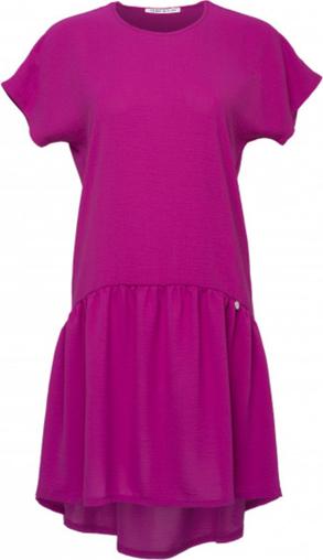 Różowa sukienka Look made with love