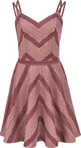 Różowa sukienka Manifiq&Co. mini