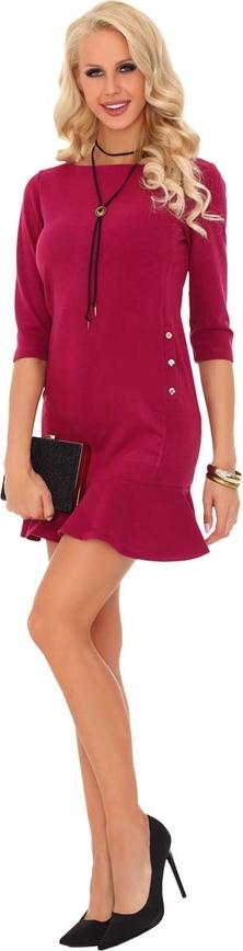 Różowa sukienka MERRIBEL midi