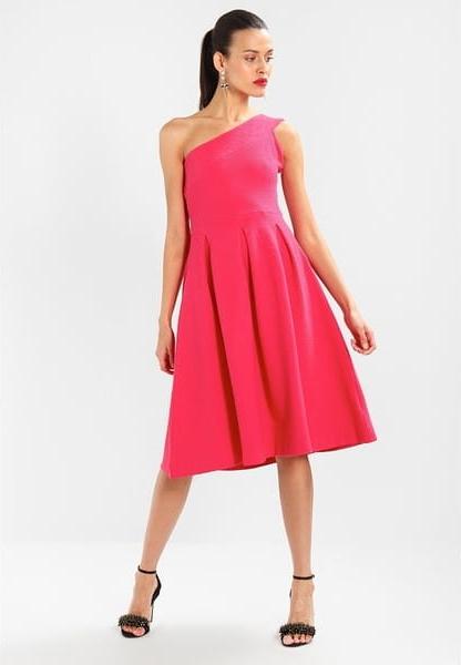 Różowa sukienka Mint&berry midi