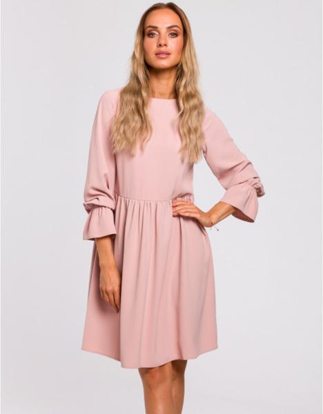 Różowa sukienka MOE