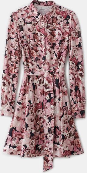 Różowa sukienka Mohito mini