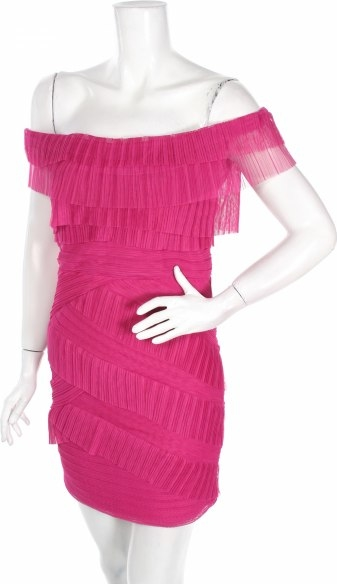 Różowa sukienka Morgan
