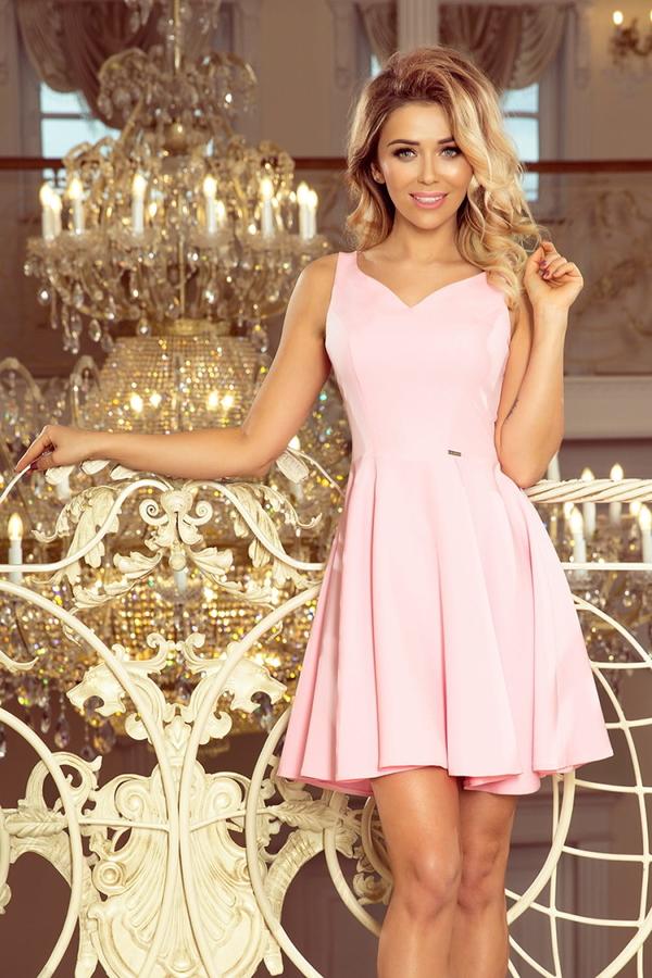 Różowa sukienka MORIMIA mini