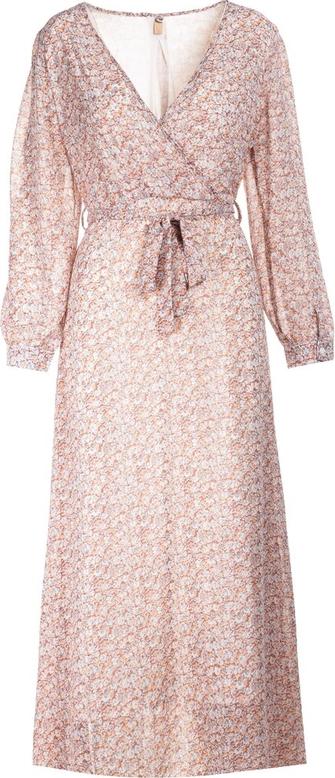 Różowa sukienka Multu