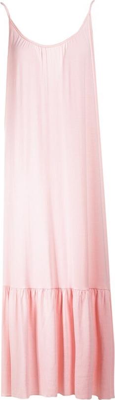 Różowa sukienka Multu na ramiączkach
