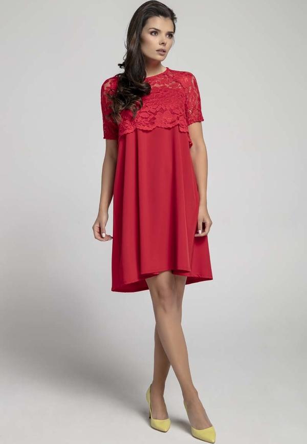Różowa sukienka Nommo
