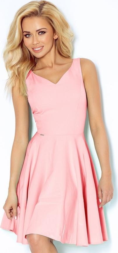 Różowa sukienka NUMOCO