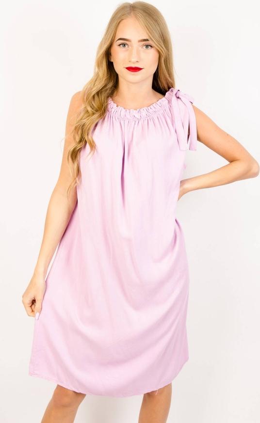 Różowa sukienka Olika mini