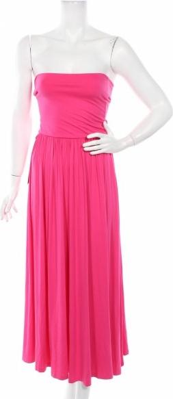 Różowa sukienka Oxygene bez rękawów
