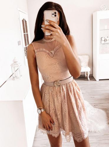Różowa sukienka Pakuten mini
