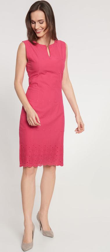 Różowa sukienka QUIOSQUE