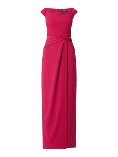 Różowa sukienka Ralph Lauren