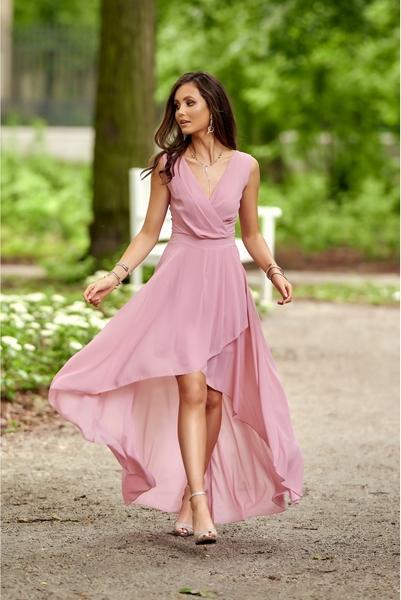 Różowa sukienka Roco