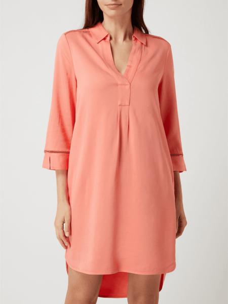 Różowa sukienka S.Oliver Black Label w stylu casual mini