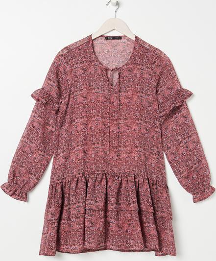 Różowa sukienka Sinsay mini
