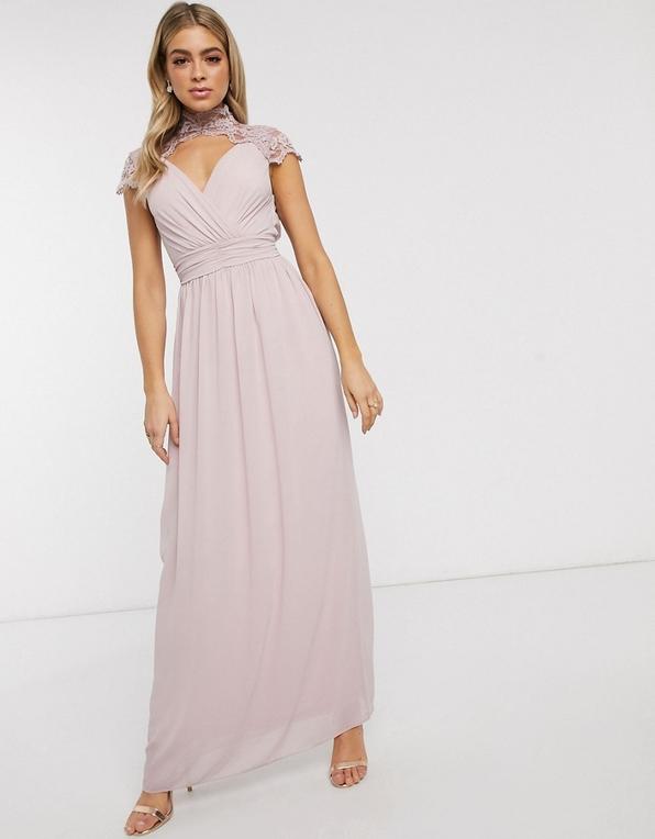 Różowa sukienka Tfnc