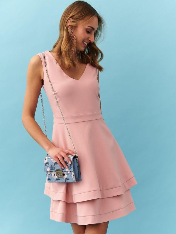 Różowa sukienka Top Secret