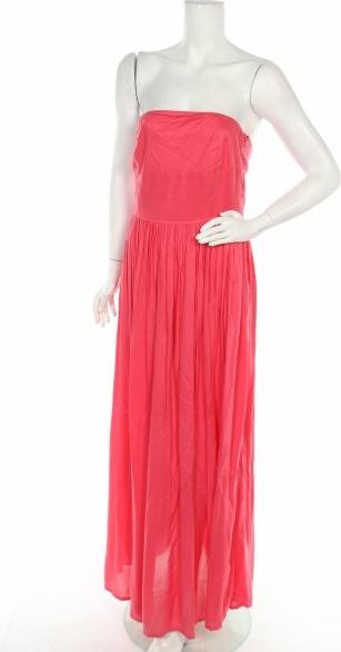 Różowa sukienka Troll bez rękawów
