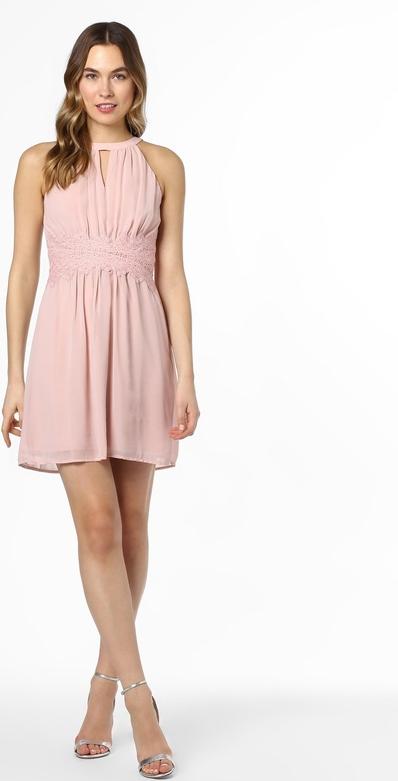 Różowa sukienka Vila