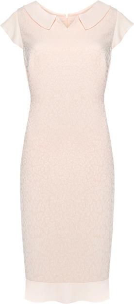 Różowa sukienka VitoVergelis ołówkowa