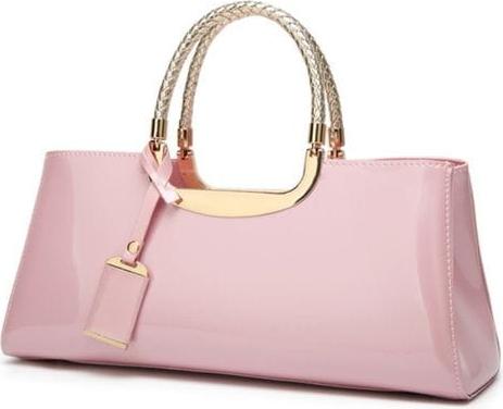 Różowa torebka Cikelly średnia