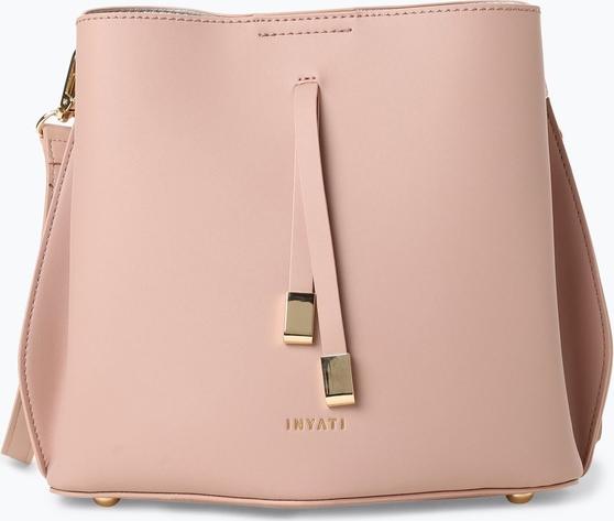 Różowa torebka Inyati na ramię