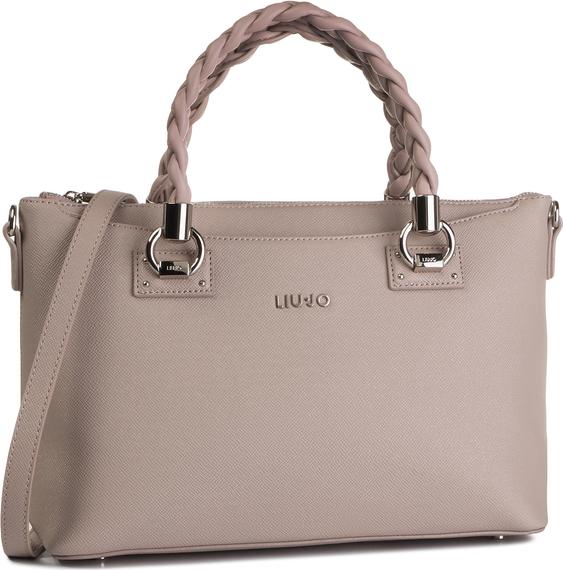 Różowa torebka Liu-Jo do ręki matowa