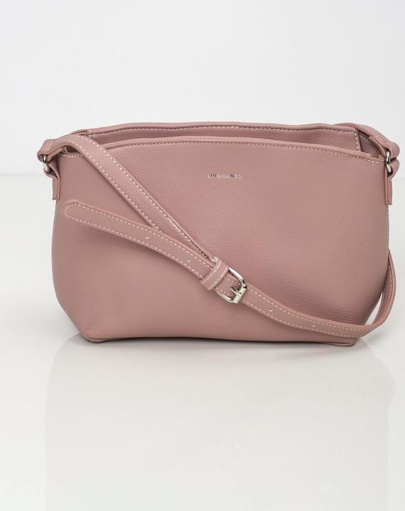 Różowa torebka Sheandher.pl na ramię