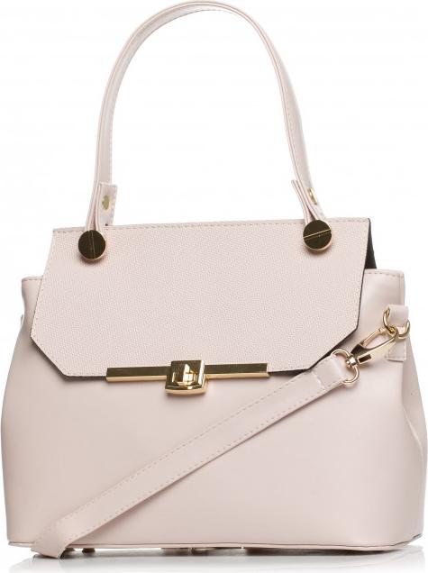 Różowa torebka Style średnia