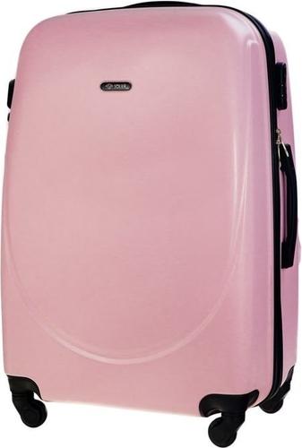 Różowa walizka Solier
