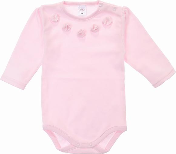 Różowe body niemowlęce Sofija dla dziewczynek