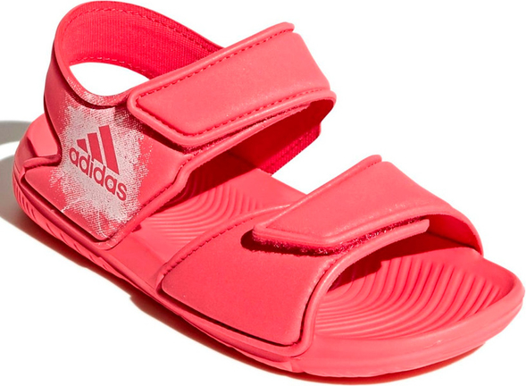 Różowe buty dziecięce letnie Adidas