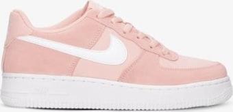 Różowe buty sportowe Nike z płaską podeszwą