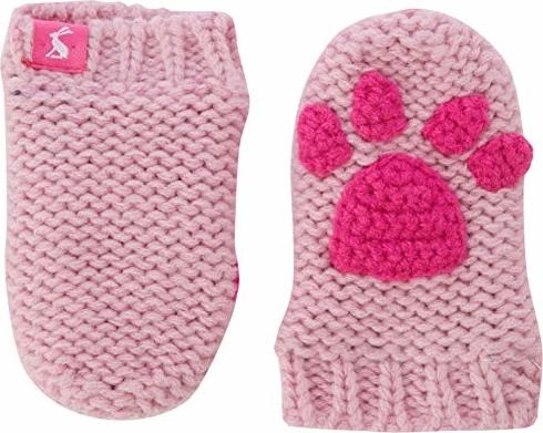 Różowe rękawiczki Tom Joule