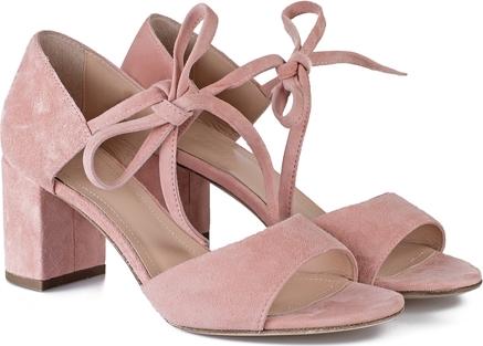 Różowe sandały Celebrity