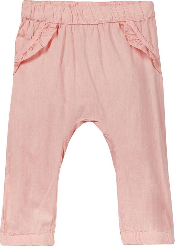 Różowe spodnie dziecięce Name it