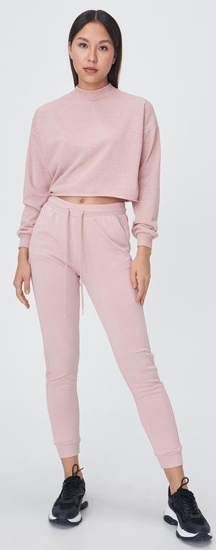 Różowe spodnie sportowe Sinsay