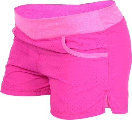 Różowe szorty Dedra w sportowym stylu