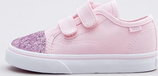 Różowe trampki dziecięce Vans