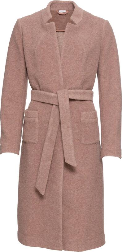 Różowy płaszcz bonprix BODYFLIRT
