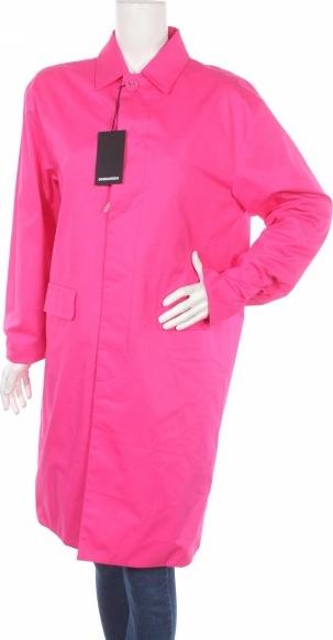 Różowy płaszcz Dsquared2 w stylu casual
