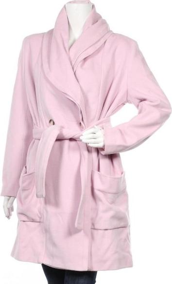 Różowy płaszcz Gerard Pasquier w stylu casual